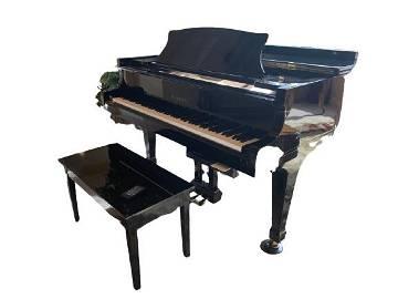 K. KAWAI KG2E BLACK BABY GRAND PIANO DISK  PIANO