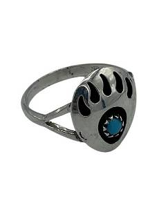 STERLING SILVER BEAR CLAW RING SIZE 9