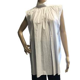 LAURENCE BRAS NWT WATER SLEEVELESS WHITE TOP