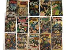15 VINTAGE DC ACTION COMICS ASSORTED EDITIONS