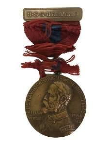 1898 U.S. NAVAL CAMPAIGN SAMPSON MEDAL