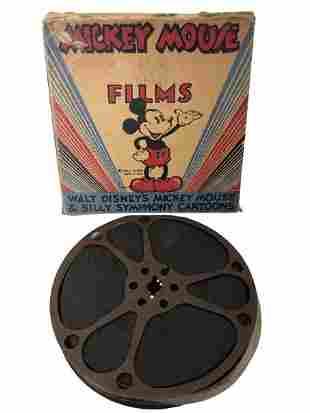 1940'S DISNEY MICKEY HURDLES & HAZARDS FILM REEL