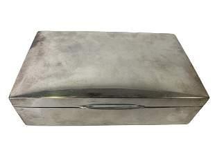 STERLING SILVER TIFFANY STYLE KEEPSAKE BOX 595G