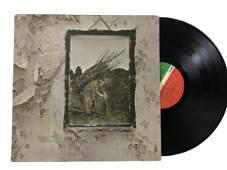 1971 LED ZEPPELIN ZOSO VINYL RECORD ALBUM