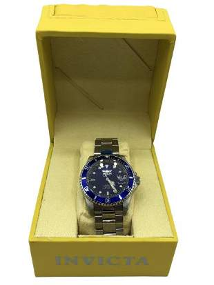 INVICTA PRO DIVER STAINLESS STEEL 40MM WATCH