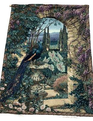 """THE SECRET GARDEN WALL HANGING TAPESTRY 75"""""""