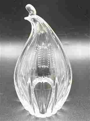 """STEUBEN CRYSTAL ART GLASS SCULPTURE 6"""""""