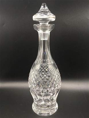 """VTG WATERFORD COLLEEN CRYSTAL DECANTER 13"""""""