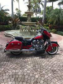 2014 RED INDIAN CHIEF CLASSIC 111  MOTORCYCLE