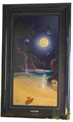 NAUTILUS MOON GICLEE BY AL HOGUE 26 OF 125