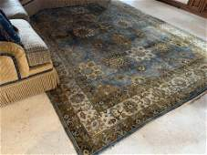 """LARGE PERSIAN STYLE WOOL AREA RUG CARPET 160"""""""