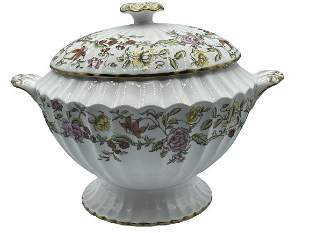 """SPODE """"FLORAL TAPESTRY SOUP TUREEN"""