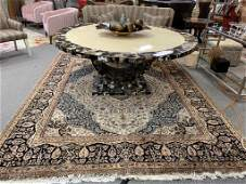 """LARGE PERSIAN STYLE AREA RUG 120"""" X 96"""""""