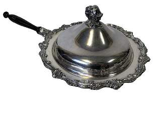 VTG MARSHALL FIELD STYLE SILVER  SERVING DISH