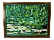 """LARGE CHAD CLOUGH ABSTRACT PAINTING 42"""""""