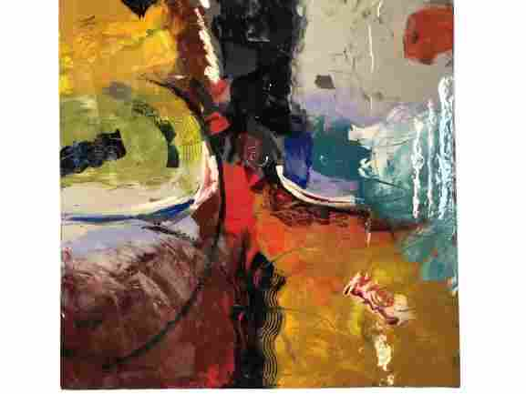 """MONUMENTAL GAVIN ABSTRACT PAINTING 66"""""""