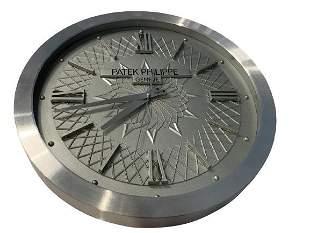 PATEK PHILIPPE HEAVY METAL GENEVE WALL CLOCK