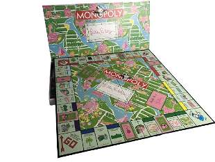 Monopoly Game Lilly Pulitzer Edition-Rare