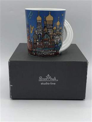 ROSENTHAL STUDIO CITY CUP MUG #19 MOSKOW