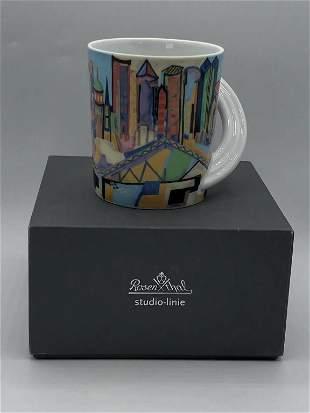 ROSENTHAL STUDIO CITY CUP MUG #8 FRANKFURT