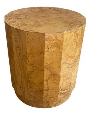 VTG EDWARD WORMLEY FOR DUNBAR BURLWOOD END TABLE