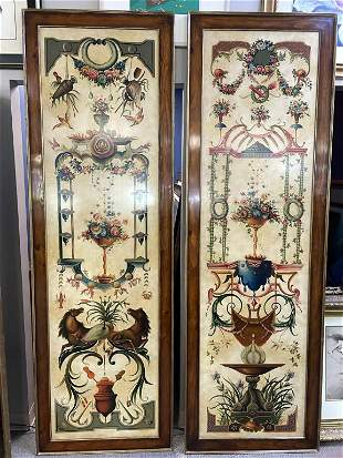 """VINTAGE MAITLAND SMITH STYLE WALL PLAQUES 92"""""""
