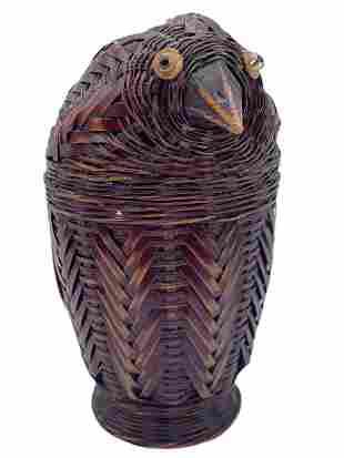 RATAN INSPIRED OWL BOX