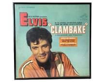 "ELVIS PRESLEY ""CLAMBAKE"" FRAMED RECORD ALBUM"