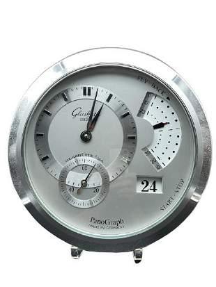 RARE GLASHUTTE PANOGRAPH WALL CLOCK