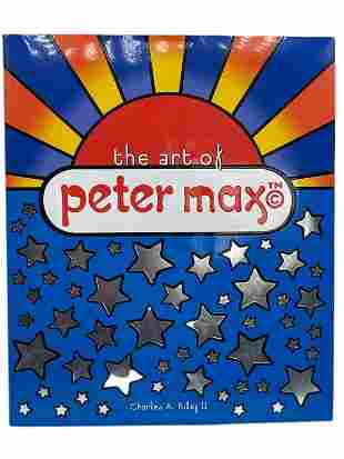"""""""THE ART OF PETER MAX"""" SIGNED BY PETER MAX"""