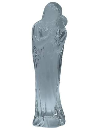 BACCARAT CRYSTAL MOTHER AND CHILD FIGURINE