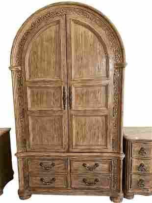 BERHARDT FRENCH COUNTRY WARDROBE OR ARMOIRE