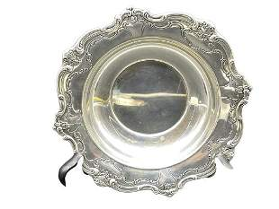 VINTAGE STERLING SILVER SERVING TRAY 97 G