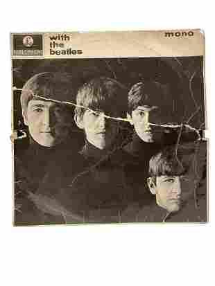 "THE BEATLES ""WITH THE BEATLES"" MONO VINYL RECORD"