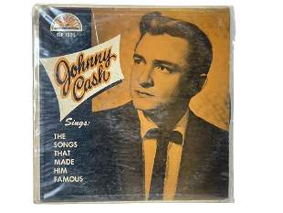 """JOHNNY CASH """"SONGS THAT MADE HIM FAMOUS"""" RECORD"""