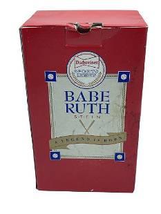 BUDWEISER BABE RUTH SPORTS LEGENDS BEER STEIN