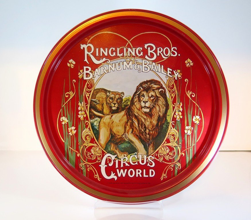 Ringling bros and Barnum and Bailey Tip Tray