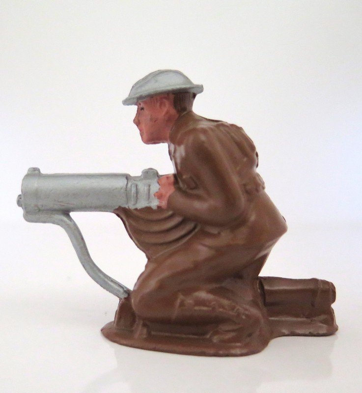 Barclay World War I Water Cooled Machine Gunner –