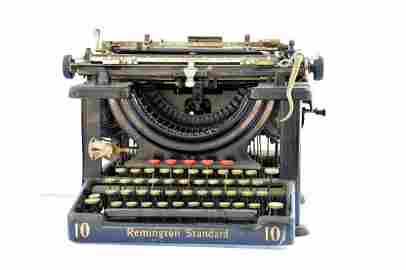 Antique Remington No. 10 Typewriter
