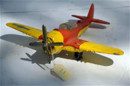 Vintage Hubley Flying Circus Single Engine Plane