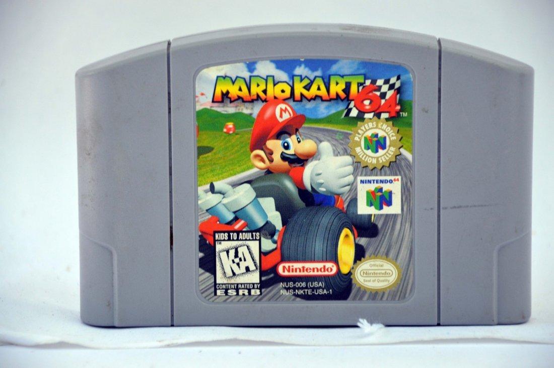 Nintendo 64 Mario Kart Game