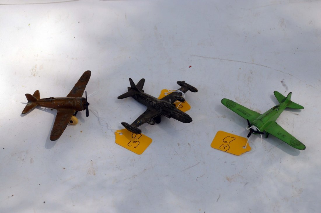 3 Rare Hubley Planes