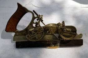 Antique Stanley No. 45 Combination Plow Plane