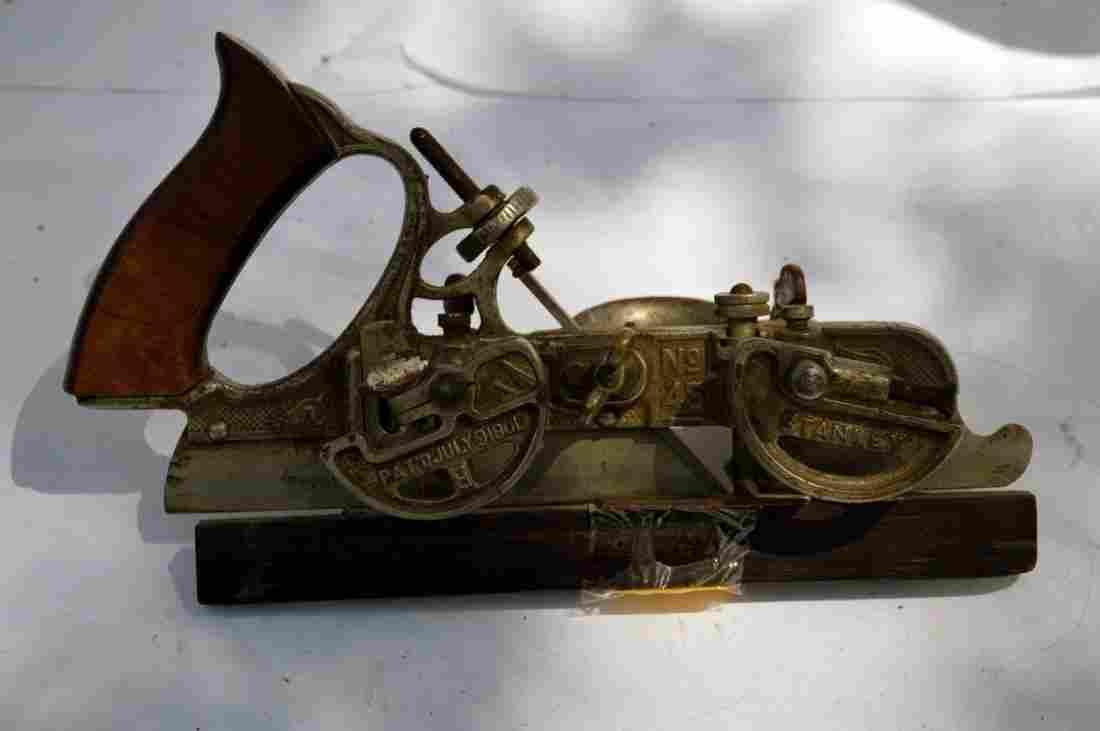 Antique Stanley No. 45 Combination Plow Plane