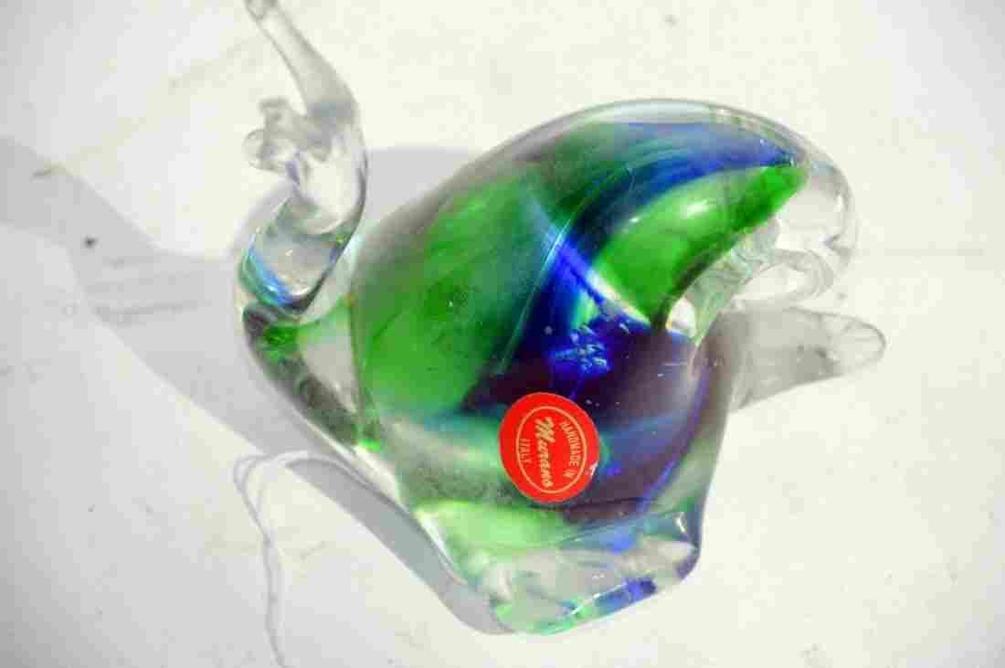 Hand Blown Murano Glass Snail