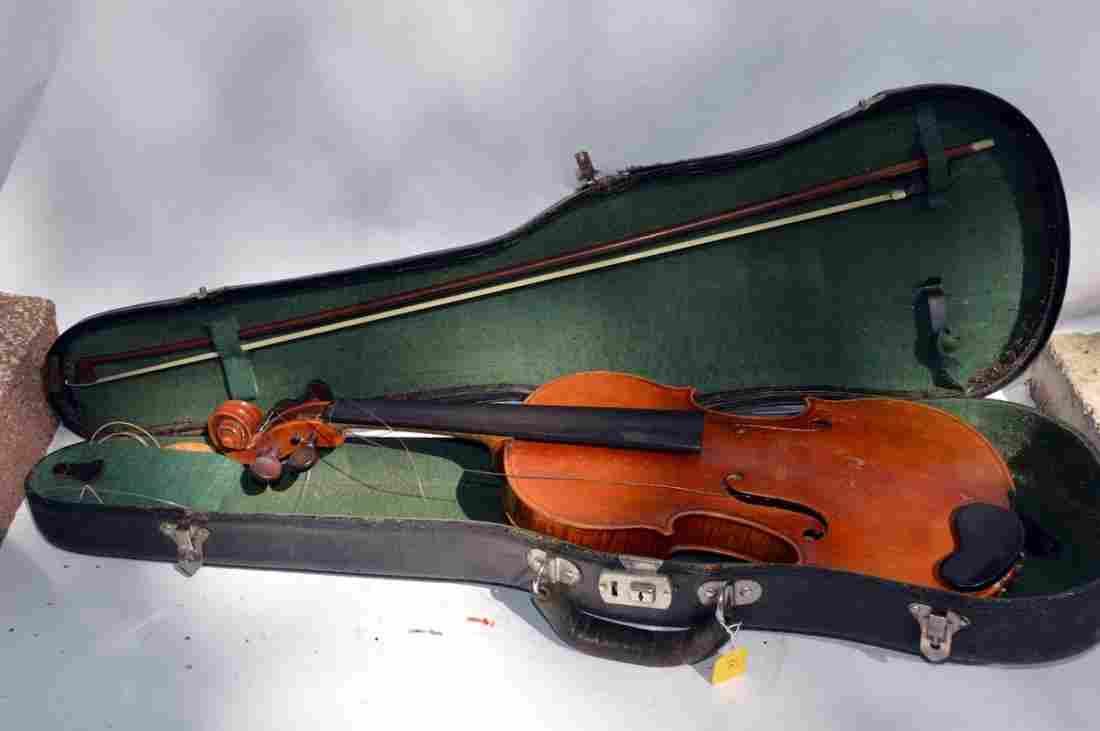 Vintage Violin with Case