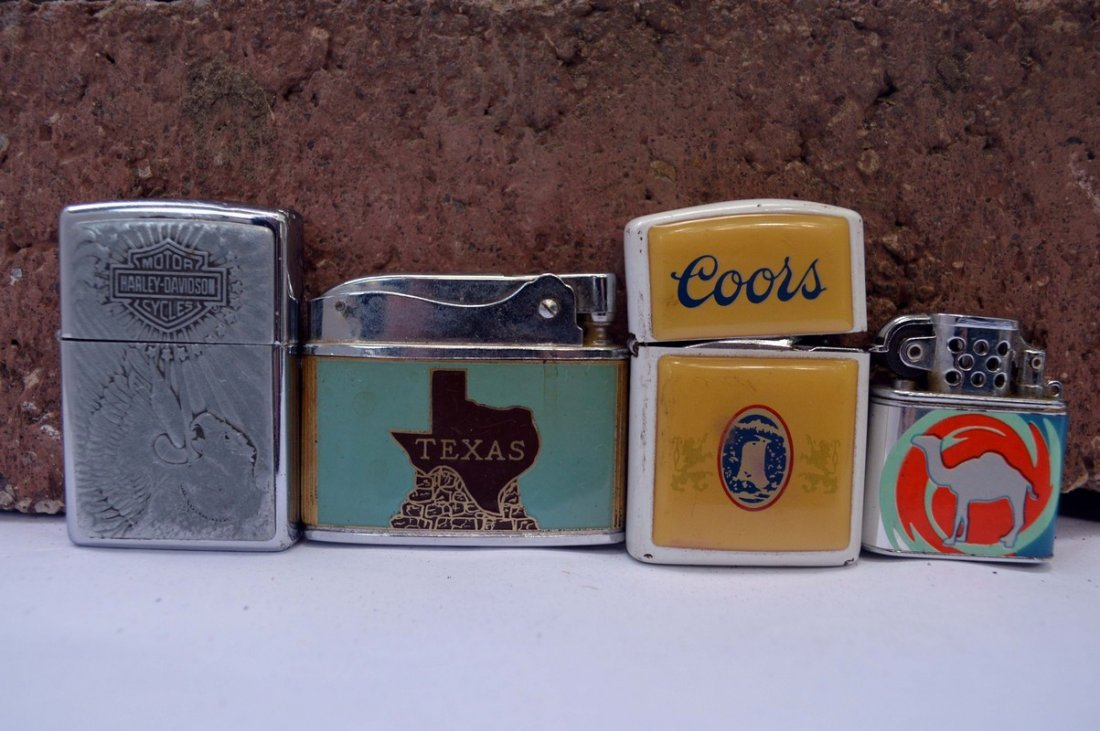 4 Advertising Lighters
