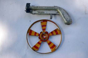 Vintage Daisy Mfg. Co Propeller Pistol