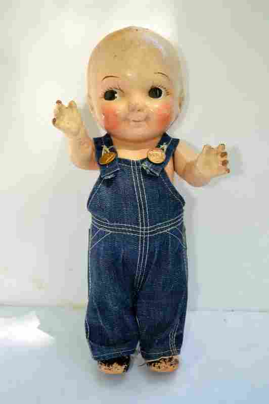 Vintage Composition Buddy Lee Advertising Doll