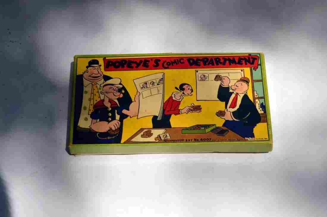 Vintage Popeye Comic Department Stamps